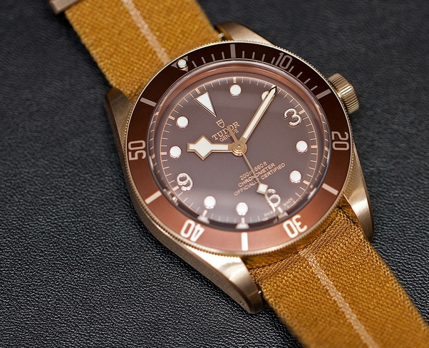 Replica Tudor Heritage Black Bay Bronze 79250BM