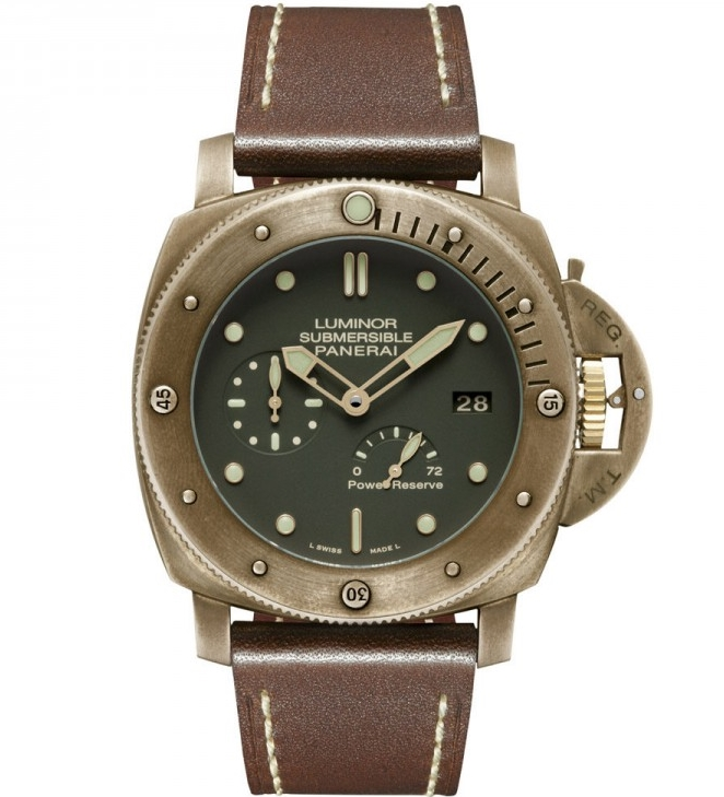 Replica Panerai Luminor Submersible 1950 Bronzo