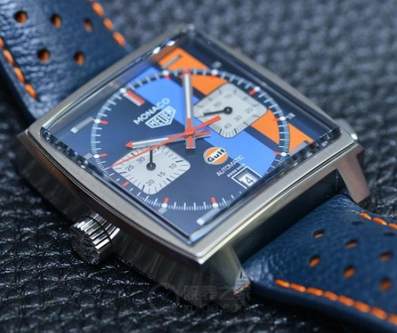 Replica TAG Heuer Monaco Gulf Special Edition