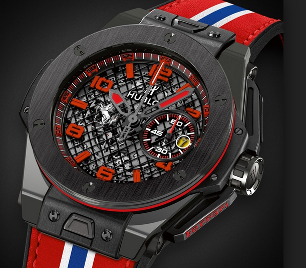 replica Hublot Big Bang Ferrari Black Ceramic