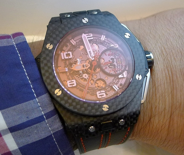 replica Hublot Big Bang Ferrari Red Magic Carbon
