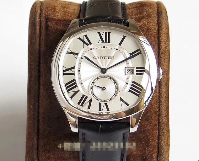 Replica Cartier Drive de Cartier Steel Mens Watch
