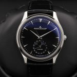 Black Replica Jaeger-LeCoultre Master Control Ultra Thin Moon