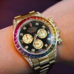 Replica Rolex Daytona Rainbow 116598 And 116599