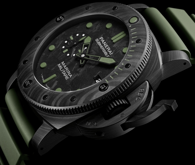 Replica Panerai Submersible Marina Militare Carbotech