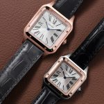 Replica Cartier Santos Dumont Rose Gold