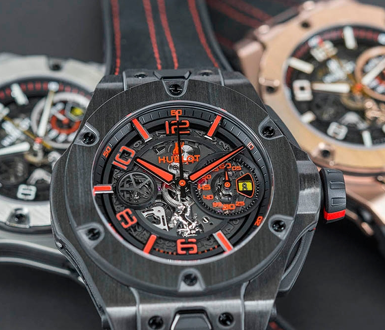 Replica Hublot Big Bang Ferrari Unico Titanium