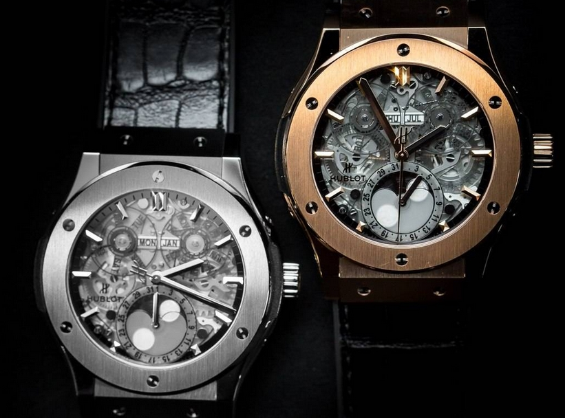 Replica Hublot Classic Fusion Aerofusion Moonphase
