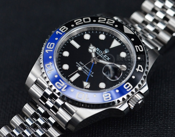 Replica Rolex GMT Master II Batman 126710BLNR