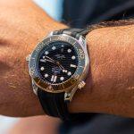 Replica Omega Seamaster Diver 300M Gold