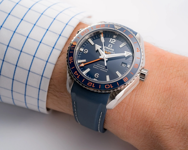 Omega Seamaster Planet Ocean 600M GMT 232.32.44.22.03.001
