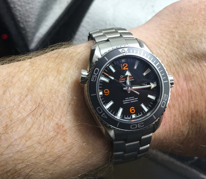Omega Seamaster Planet Ocean 600M Co-Axial 232.30.38.20.01.002